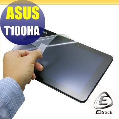 【Ezstick】ASUS T100 HA 專用 靜電式平板LCD液晶螢幕貼 (可選鏡面防汙或高清霧面)