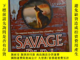 二手書博民逛書店英文原版罕見Savage Run [ C. J. Box ]Y1