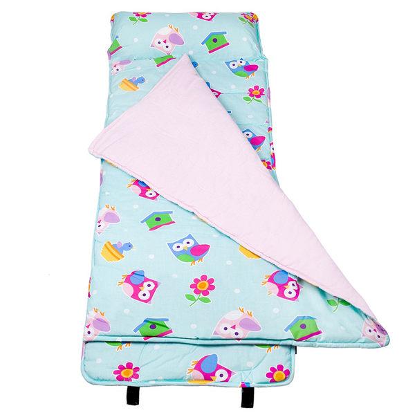 【LoveBBB】無毒幼教睡袋 符合美國標準 Wildkin 28407 柏蒂鳥 午睡墊(3-7) 安親班/兒童睡袋