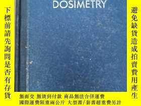 二手書博民逛書店radiation罕見dosimetry (H426)Y1734
