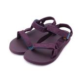 【TEVA ORIGINAL UNIVERSAL PUFF 織帶涼鞋 紫紅 TV1017444FIG 女鞋 鞋全家福】