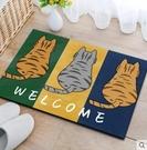 地毯【兩件裝】門口地墊地毯吸水門墊腳墊衛生間進門地墊臥室廁所浴室防滑墊家用