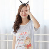 睡衣/ 洋裝 - Wonderland 夢想熊(藍)