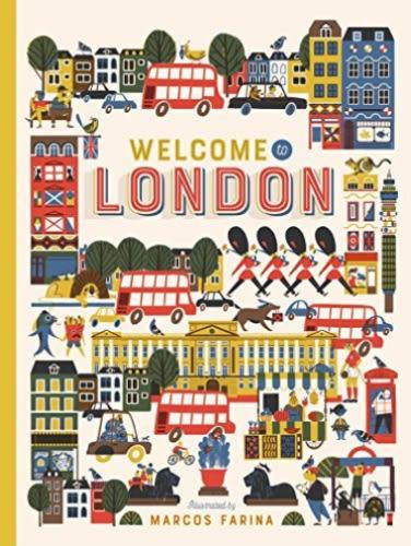 Welcome To London 倫敦之旅 精裝繪本