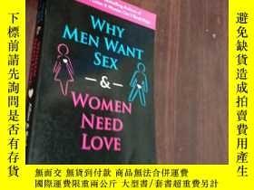 二手書博民逛書店Why罕見Men Want Sex and Women Need Love為什麽男人想要性,而女人需要愛Y12