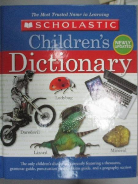 【書寶二手書T1/字典_YDU】Scholastic Children s Dictionary_Scholastic Inc.
