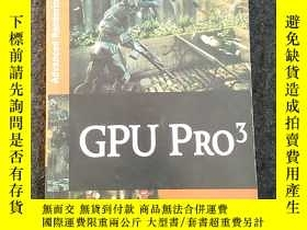 二手書博民逛書店GPU罕見PRO 3: Advanced Rendering T