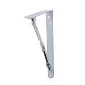 折合式置物支架白色12 二入 適用層板深35公分