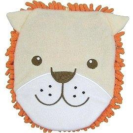 【波克貓哈日網】日本創意小品◇超細纖維手套◇《橘色-獅子圖案》