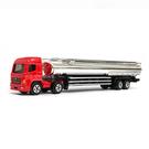 HY ALLOY華一 105R 重型油罐運輸車/紅 超長型小車 合金模型車 聯結車 運油車【楚崴玩具】