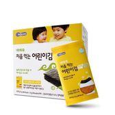 韓國 智慧媽媽 BEBECOOK 嬰幼兒無鹽海苔~洋蔥 10包入(12個月以上)