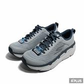 SKECHERS 男 慢跑鞋 GO RUN MAX CUSHIONING 灰藍 皮革 網布-220078GYNV
