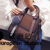 手提包/韓版女包簡約氣女士百搭單肩斜挎包「歐洲站」