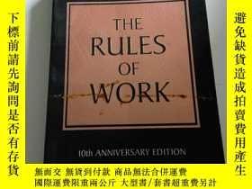 二手書博民逛書店The罕見Rules of Work [平裝](英文, 不好)Y