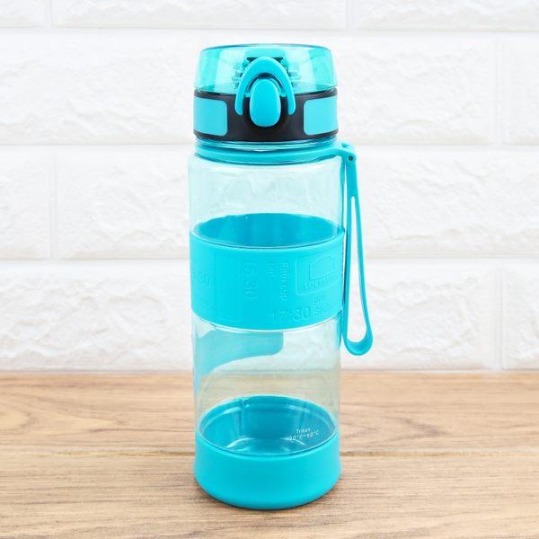 樂扣樂扣彈蓋水壺矽膠提帶水杯700ml冷水壺ABF962-大廚師百貨