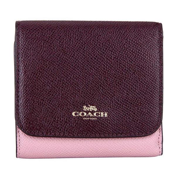 COACH 女款皮質短款錢包錢夾 F57825