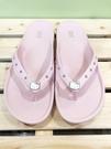 【震撼精品百貨】Hello Kitty 凱蒂貓~台灣製正版成人水鑽夾腳拖鞋-粉色(36~40號)#10627