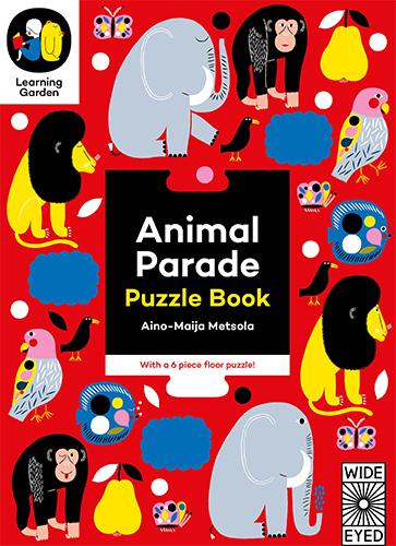Animal Parade:Puzzle Book 動物拼圖書