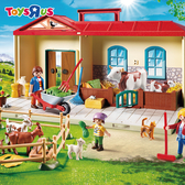 玩具反斗城 PLAYMOBIL 提盒-農場