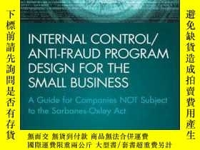 二手書博民逛書店Internal罕見Control Anti-Fraud Program Design for the Small
