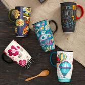 愛屋格林大容量馬克杯帶蓋杯子陶瓷咖啡杯創意家用喝水杯情侶一對 英雄聯盟