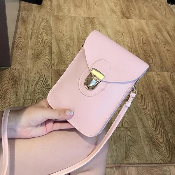斜跨手機包 手機包女小包包2021新款夏天百搭斜挎包二層零錢包時尚豎款單肩包 歐歐