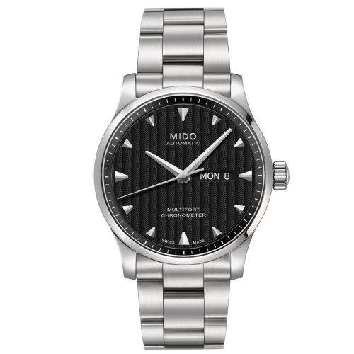 MIDO Multifort 先鋒系列時尚經典機械錶/黑/M0054311144100