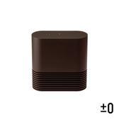 【正負零±0】電暖器XHH-Y030 (咖啡)