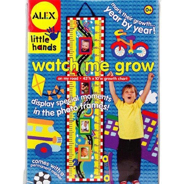 【美國ALEX】我的成長身高尺-高速公路/花園 (兩種選擇)