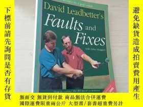 二手書博民逛書店David罕見Leadbetter s Faults and Fixes: How to Correct the