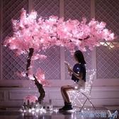 仿真櫻花樹桃花樹大型假樹新年許願樹定制假樹裝飾 MKS 快速出貨
