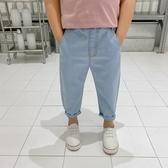 男童防蚊褲薄款牛仔褲兒童夏裝褲子小童洋氣燈籠褲寶寶夏季褲子潮 快速出貨