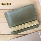 【TROOP】經典品格CLASSIC錢包/TRP0452OLIP