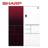 [SHARP 夏普]502公升 五門左右開冰箱 SJ-WX50ET-R/W