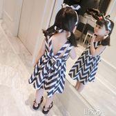 洋裝無袖背心裙兒童洋氣連身裙 E家人