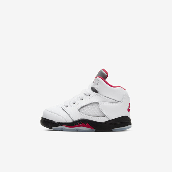 Nike Jordan 5 Retro (td) [440890-102] 小童鞋 籃球 流川楓 喬丹 經典 復古 白紅