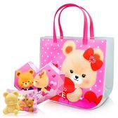 (滿3件$399)英國貝爾-安娜甜心袋+愛心鑽石皂~指定商品需滿3件以上才可出貨