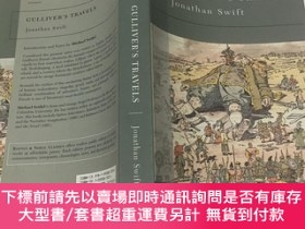 二手書博民逛書店Barnes罕見& Noble Classics Gulliver`s travels 格列佛旅行 英文文學小說奇