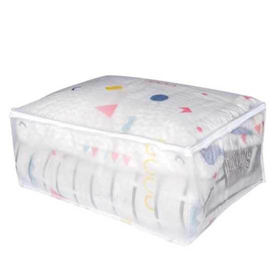 棉被袋 透明 防塵袋 打包 搬家神器 旅行收納 換季 枕頭 幼稚園 EVA棉被收納袋【Q007】米菈生活館