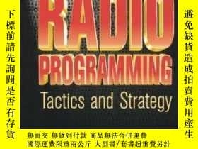 二手書博民逛書店Radio罕見Programming: Tactics And Strategy (broadcasting &