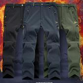 【加絨加厚】防水防風保暖衝鋒褲機能褲 7色 S-8XL_特價【CP16002】