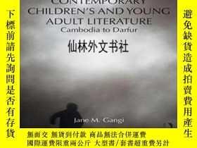 二手書博民逛書店【罕見】Genocide In Contemporary Children S And Young Adult L