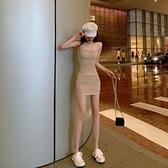 收腰洋裝 吊帶連身裙2021新款春夏收腰顯瘦性感法式高級氣質小個子短裙子女 非凡小鋪 新品