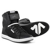 【東門城】V'QUATTRO MILANO EVO BLACK 淬鍊深黑款車靴