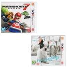 3DS遊戲 瑪莉歐 瑪利歐賽車7+任天狗 貓與法國鬥牛犬和新朋友合購組 台灣機用中文版【玩樂小熊】