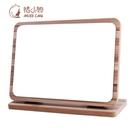 化妝鏡子臺式木鏡子折疊公主鏡宿舍鏡子美容梳妝鏡高清鏡面 降價兩天