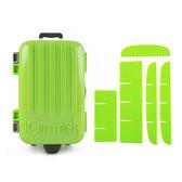 魔術分裝收納盒- 綠色行李箱