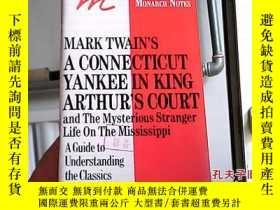 二手書博民逛書店Mark罕見Twain s A Connecticut Yank