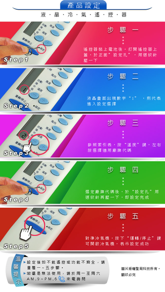 【Dr.AV】AI-T1 TECO東元、APTON艾普頓、Gibson吉普生 專用冷氣遙控器