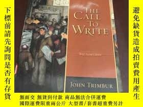 二手書博民逛書店The罕見Call to Write (Brief second